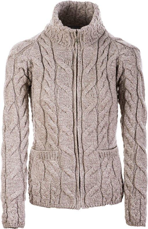 Aran Cardigan Sweaters